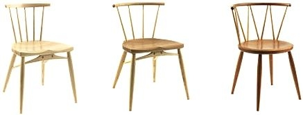 Sitting Firm Chairmakersで商品化された家具制作鯛工房の椅子